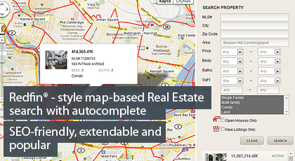 Map-based MLS search